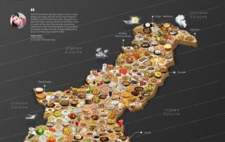 Pakistani food map high resolution